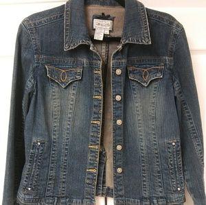 Live a little jean jacket size medium